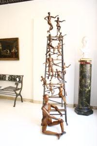 Akademiefiguren, seltene Arbeit, Antiquitäten