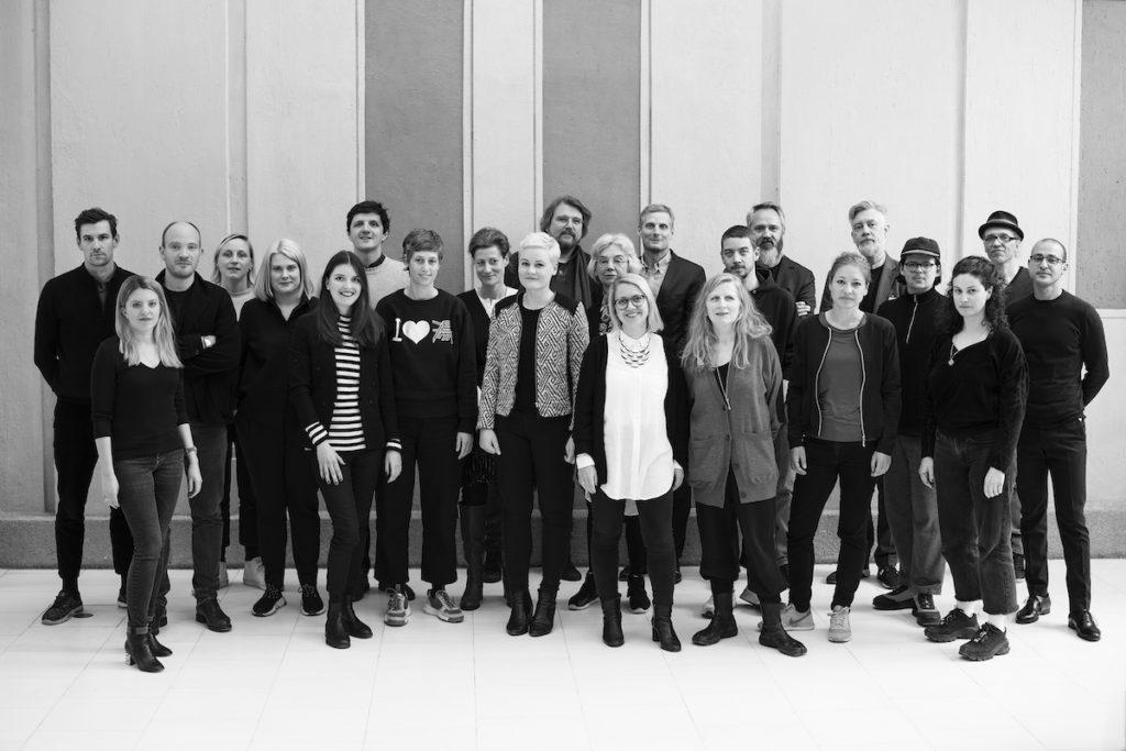 Vertreterinnen und Vertreter des Kooperationsprojekts VARIOUS OTHERS