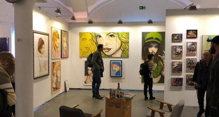 Innenansicht, Ausstellungsfläche, ARTMUC
